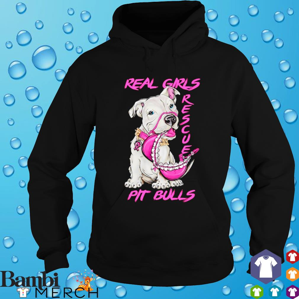 Pit Bulls real girls rescue s hoodie
