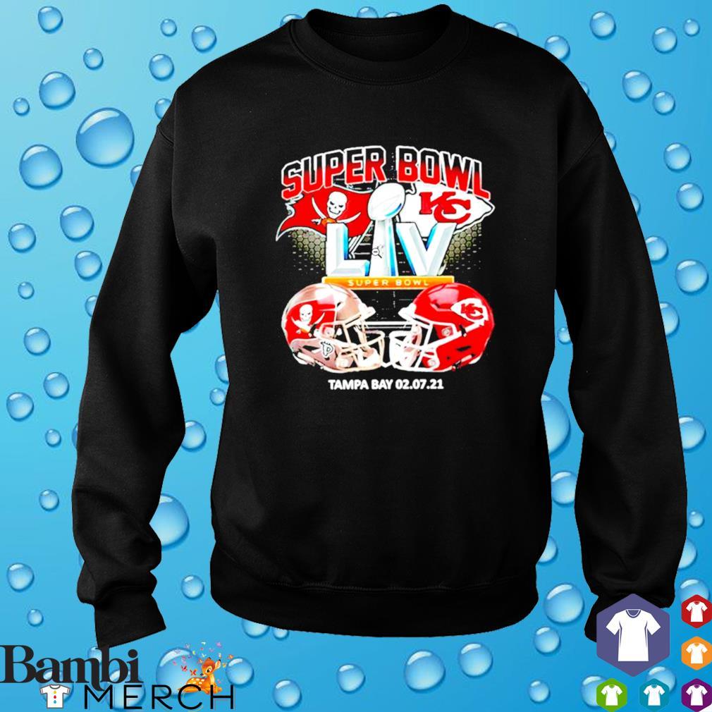Bucs vs. Chiefs Super Bowl 2021 Tampa Bay 02.07.2021 s sweater